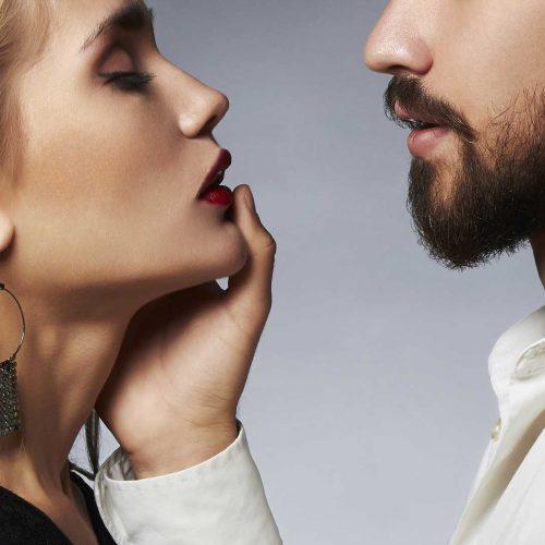 woman-lips-man